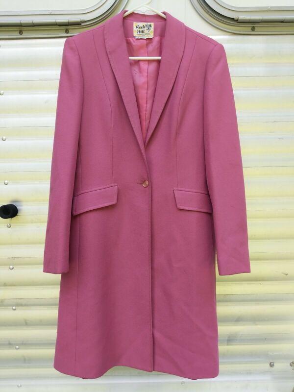 Reed Hill Saddleseat Day Coat Rose Pink size 10