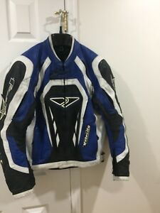 For sale two motorcycle leather jackets!