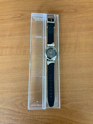 Swatch Irony Deep Night Stainless Steel Watch YLS125