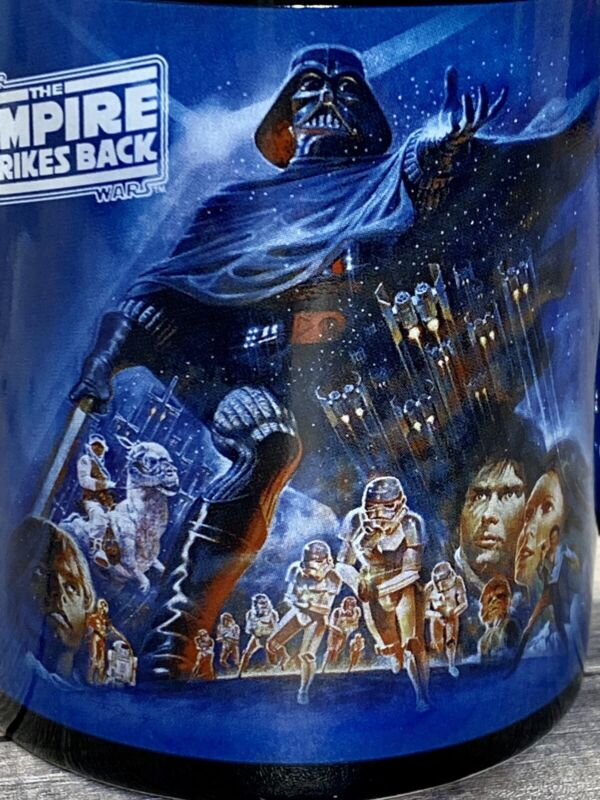 Star Wars Empire Strikes Back Collectable Coffee Mug / Cup 2010 Porcelain
