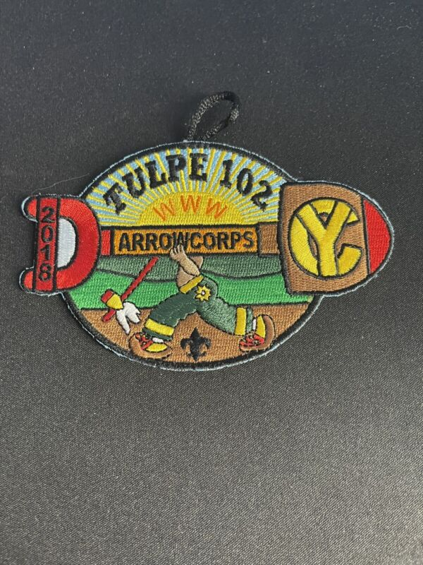 Tulpe Lodge 2018 Arrowcorps Patch