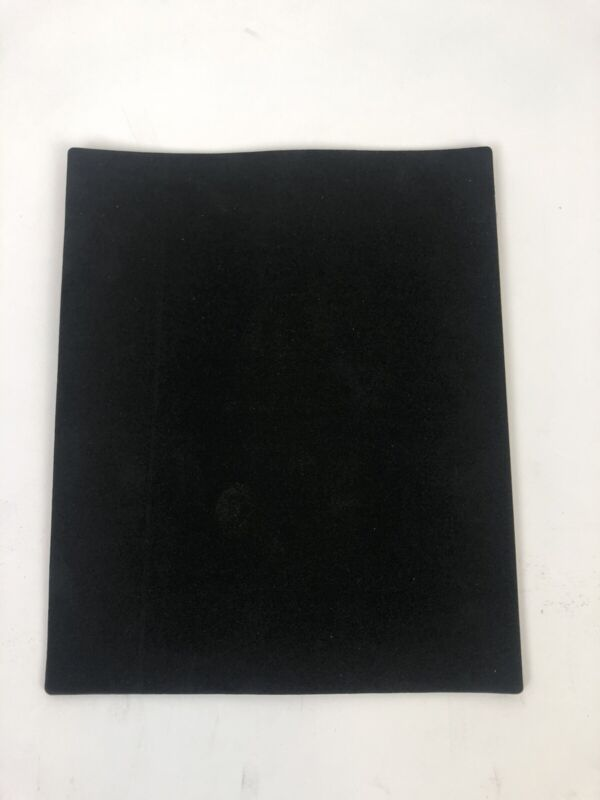 "(Lot Of 25) 3M Poron Foam 8""X10""Sheets 1/8 Thick w/ 467MP Adhesive Backing Black"