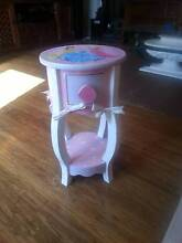 LITTLE GIRLS TIMBER  PRINCESS BEDSIDE TABLE WITH DRAWER Murrumba Downs Pine Rivers Area Preview