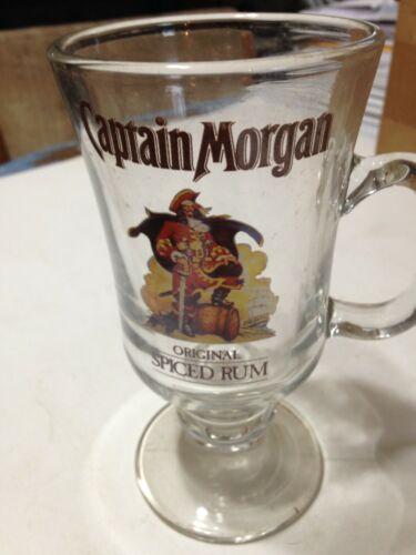Vintage Captain Morgan Rum Glass Mug Excellent Condition