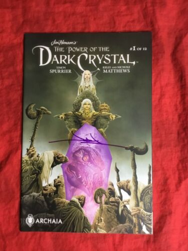 JIM HENSON'S THE POWER OF THE DARK CRYSTAL #1~COVER A~HAND-SIGNED BY JAE LEE~B
