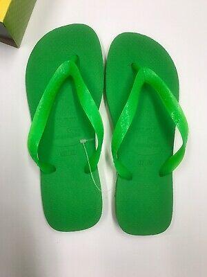 Havaianas TOP Women's Flip Flops Neon Green Pick Size 35/36 37/38 39/40 41/42