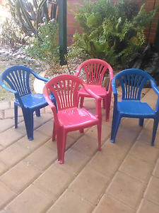 Kids plastic chairs Gosnells Gosnells Area Preview