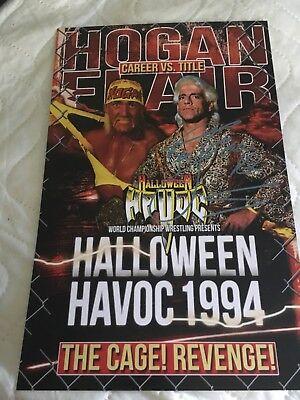 Halloween Havoc Wrestling (RIC FLAIR 11x17 WWF WWE CUSTOM WRESTLING PHOTO HALLOWEEN HAVOC)