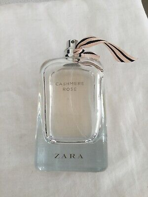 Zara Cashmere Rose 100ml Eau De Parfum Spray USED