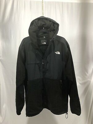 The North Face Mens Denaili Black Hooded 3XL Winter Coat Jacket Free Shipping