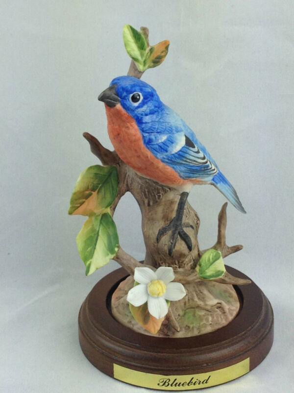 made in japan bluebird figurine
