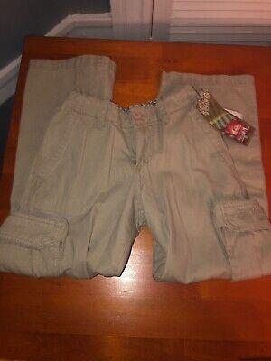 """New Quicksilver Boys Vintage Wash Cargo Pants Size 8 Slim 22"""" Quicksilver Boys Pants"""
