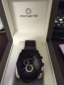 Michael Hill Black Diamond Watch