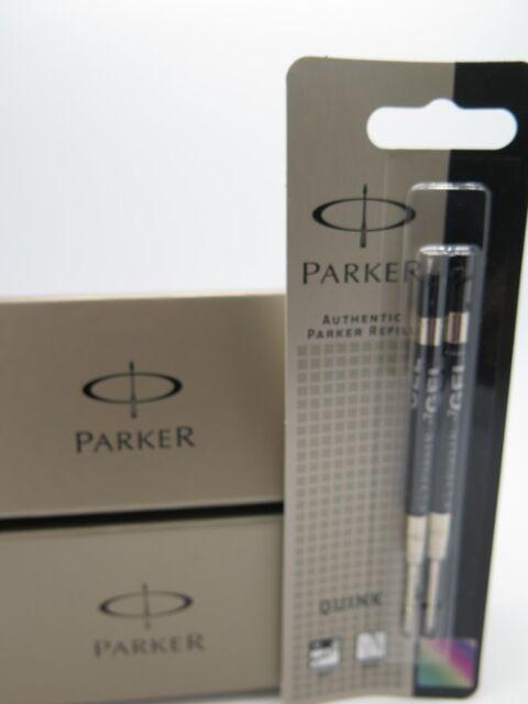 2 for 1 Parker BLACK Gel Medium Refill S0881500 / S20021118 FREE POST