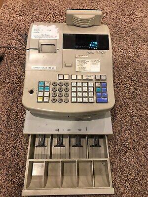 Royal 487cv Electronic Cash Register W Cash Drawer - No Key
