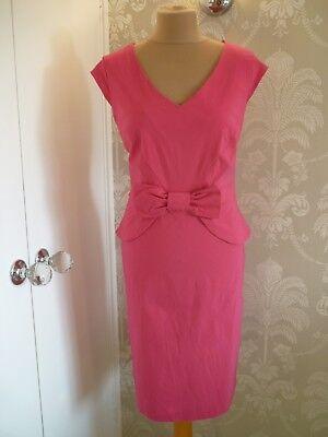 ROMAN cerise dress size 16