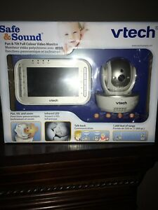 Baby monitor (safe and sound night vision)