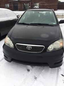 Corolla S model 2006 130000KM on it 4999$ automatic