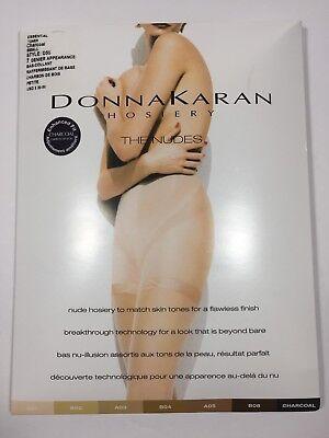 Donna Karan Womens Hosiery Pantyhose Small Charcoal D55 Donna Karan Womens Hosiery