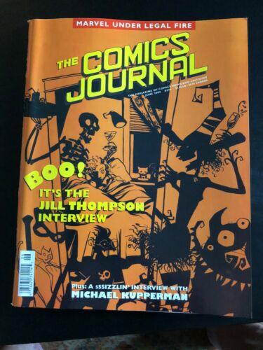 Fanzine COMICS JOURNAL #244 - Scary Jill Thompson
