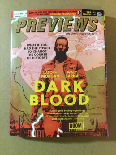 PREVIEWS #392 MAY 2021 - DIAMOND PUBLICATIONS Comic Book Preview Magazine
