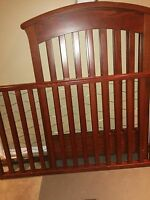 Cherry Wood crib