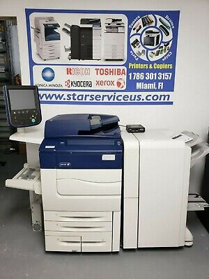 Xerox Color C70 Production Printer Copier Scanner 75 Ppm Only 92k Total