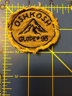 Oshkosh B'gosh Patch Wisconsin WI Children's Apparel Baby Clothing Guide #95 - Oshkosh B Gosh Children's Clothing