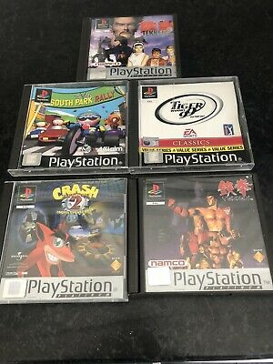 5 Original Playstation 1 Games