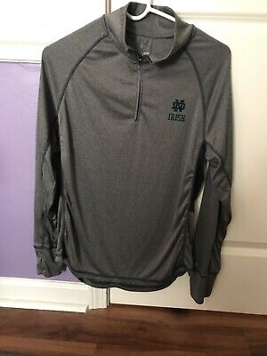 Notre Dame Jogging Long Sleeve Jersey Material