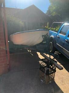 1990 Project boat with Trailer,Motor and fuel tank