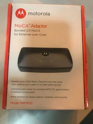 MOTOROLA MOCA Adapter for Ethernet Over Coax