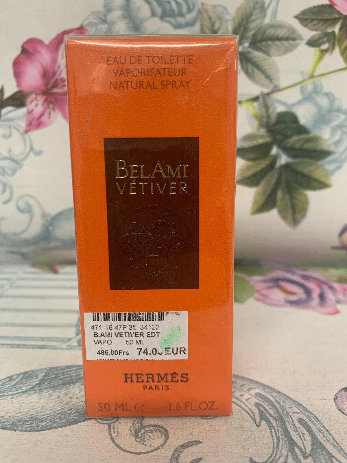 Parfum Bel Ami Vetivier 50 ml HERMES Eau De Toilette NEUF Homme
