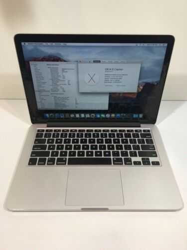 " Apple MacBook Pro Retina 13"" Mid 2014 2.6GHz i5 16GB 256gb SSD Very Good "