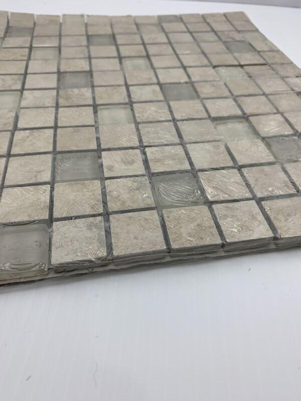 "Gold Oro  Travertine 1"" X 1"" Mosaic Tile"