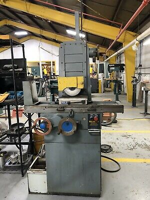 Brown  Sharpe 6x12 Surface Grinder W Coolant Lubrication System Manual