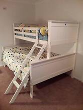 White wooden double bunk beds Armadale Armadale Area Preview