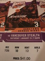 Buffalo Bandits Lacrosse Tickets