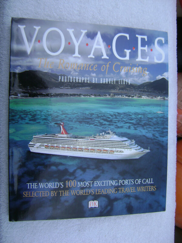 VOYAGES CRUISE SHIP VACATIONS BOOK MARITIME NAUTICAL MARINE (#052)