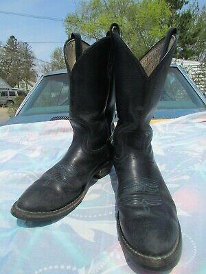 Men's Hathorn 11.5 B Black Cowboy Boots