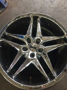 *** 20 inch DUB Chrome rims with 5 bolt pattern ***