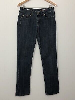 JAG JEANS Womens Blue Mid Rise Regular Fit Straight Leg Stretch Jeans Size 9