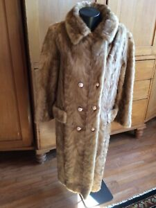 Rare Natural Blue Iris Mink Paw Coat