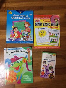 Children's tutorial books/cards Windsor Region Ontario image 1
