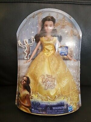 1 x NEW DISNEY BEAUTY AND THE BEAST ENCHANTING MELODIES BELLE DOLL listing 1
