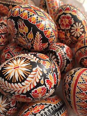 Easter Egg Chickens (Czech Traditional Easter Egg