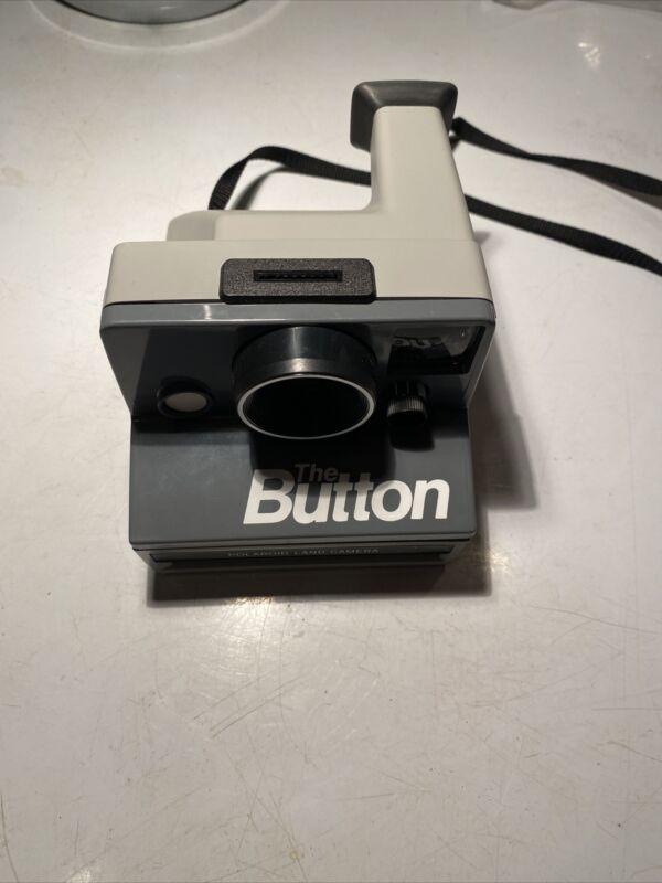 Vintage Polaroid The Button SX-70 Instant Film Land Camera