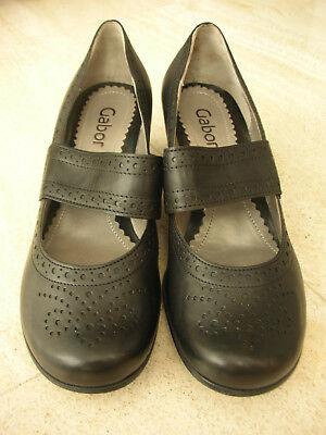 Elegante, klassische, schwarze Pumps von Gabor Fashion, Gr. 4 Größe 37