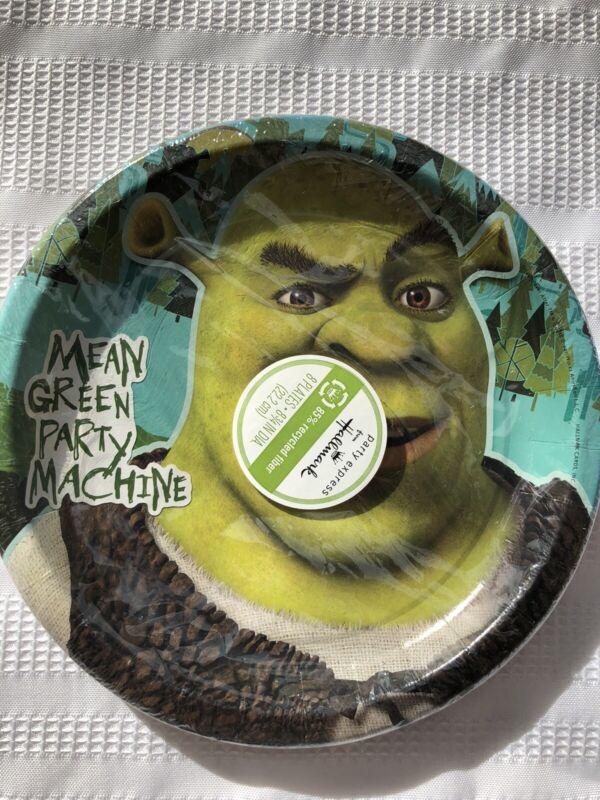 Shrek Birthday Party Supplies Large Plates