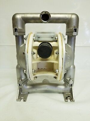 Versa-matic E1 Stainless Steel 1 Air Operated Double Diaphragm Pump
